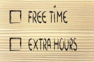 je vrije tijd is een ernstige bezigheid!