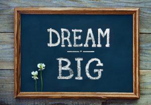 Vooruitkijken betekent ook een beetje dromen