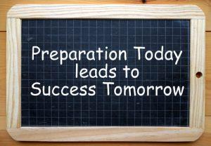 Vooruitkijken tijdens je nazicht garandeert succes