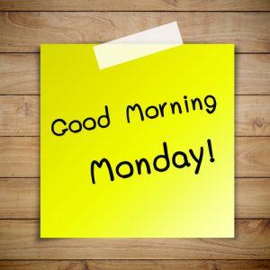 Vooruitkijken maakt je maandag iets om naar uit te kijken