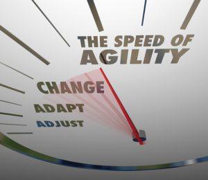 Agility of wendbaarheid bepaalt mede je succes in deze snel wijzigende omgeving