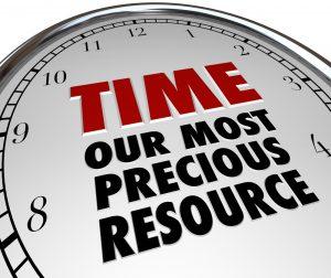 tijd is belangrijker dan geld