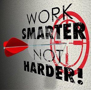meer nuttige tijd maken door slimmer te werken