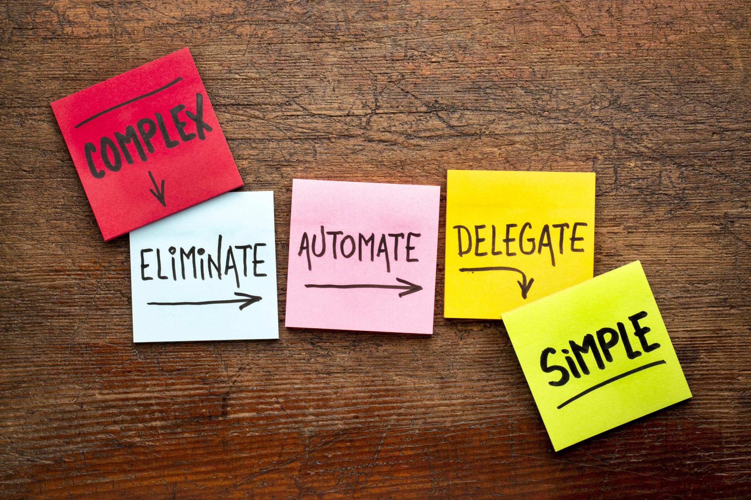 het delegeren automatiseren